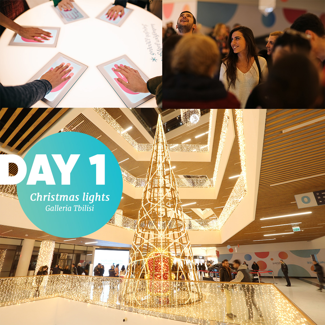 Galleria Tbilisi New years campaign day 1