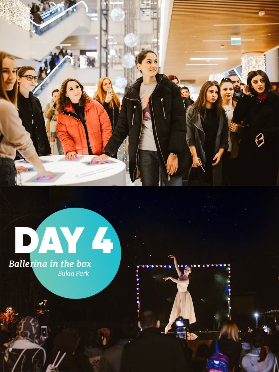 Galleria Tbilisi New years campaign day 4